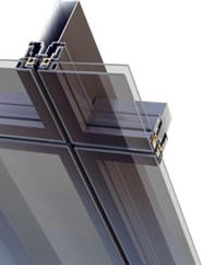 Pereti cortina structurali